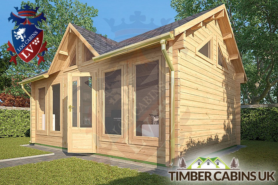 Log Cabins Bespoke Timber Log Cabin The Middlesbrough 5 5m