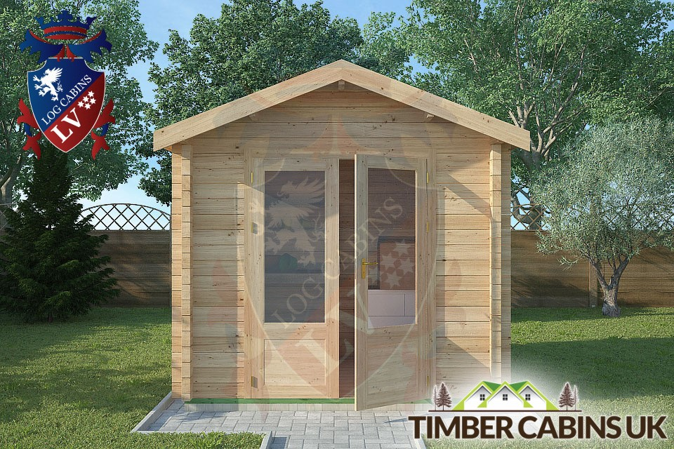 Log Cabin Blackpool 2 5m X 2m