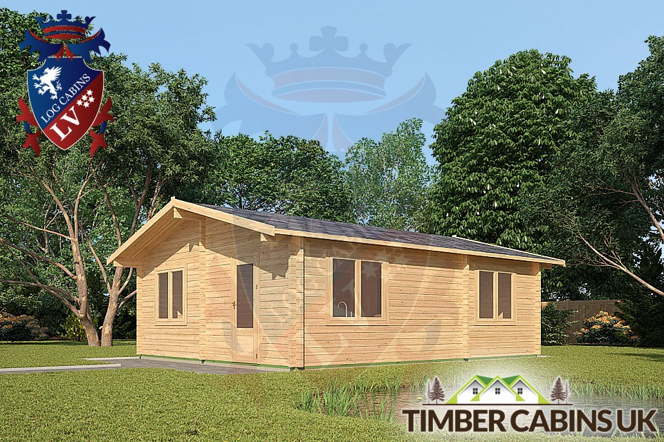 Log Cabins Bespoke Timber Log Cabin Blackpool 6m X 7m