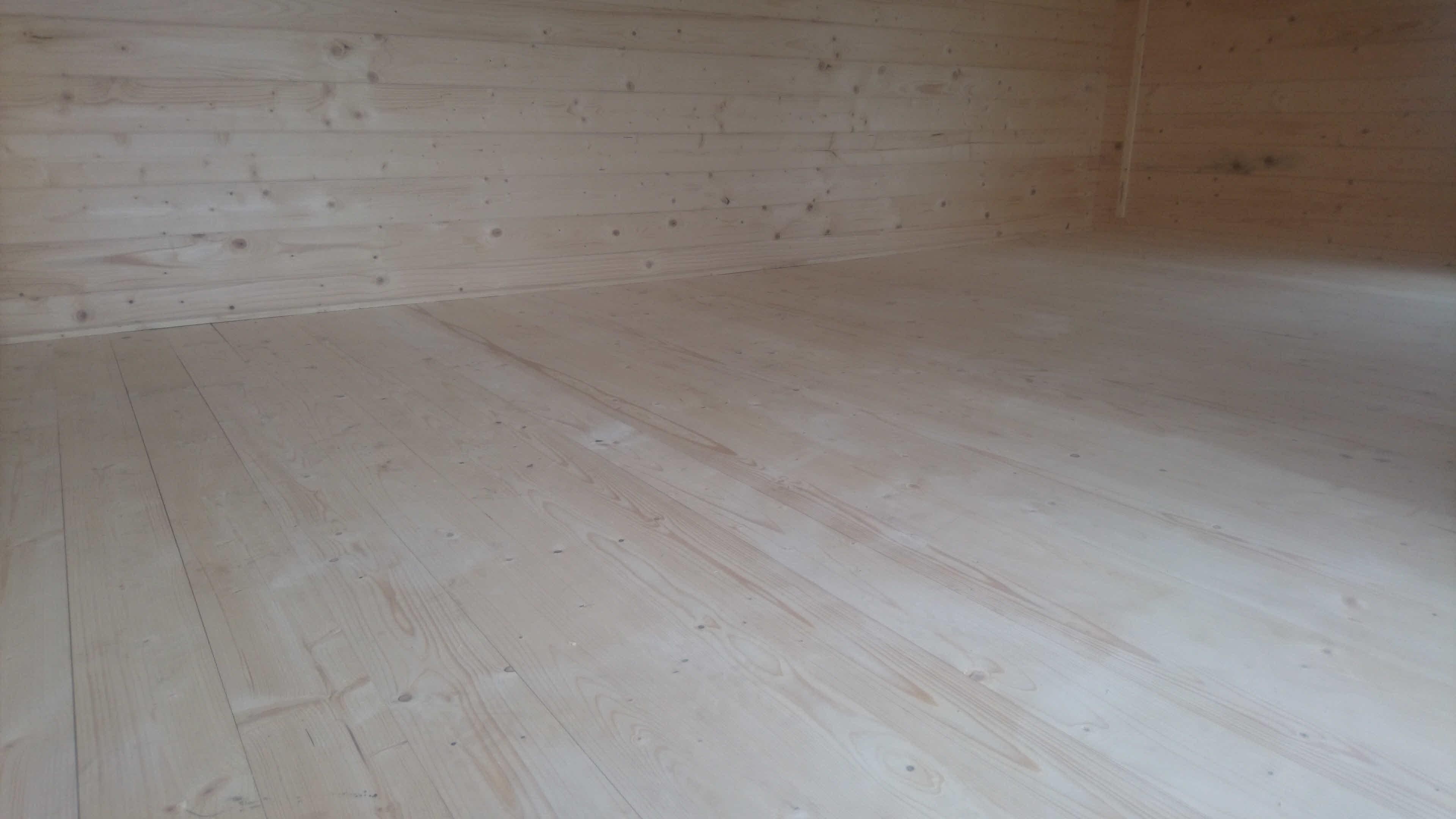 Log Cabin Installation in Blackburn Bespoke Lisburn 5m x 3m_7