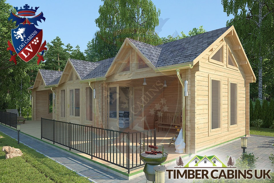 Log Cabin Maidstone 12m by 4m 002