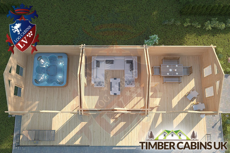 Log Cabin Maidstone 12m by 4m 003