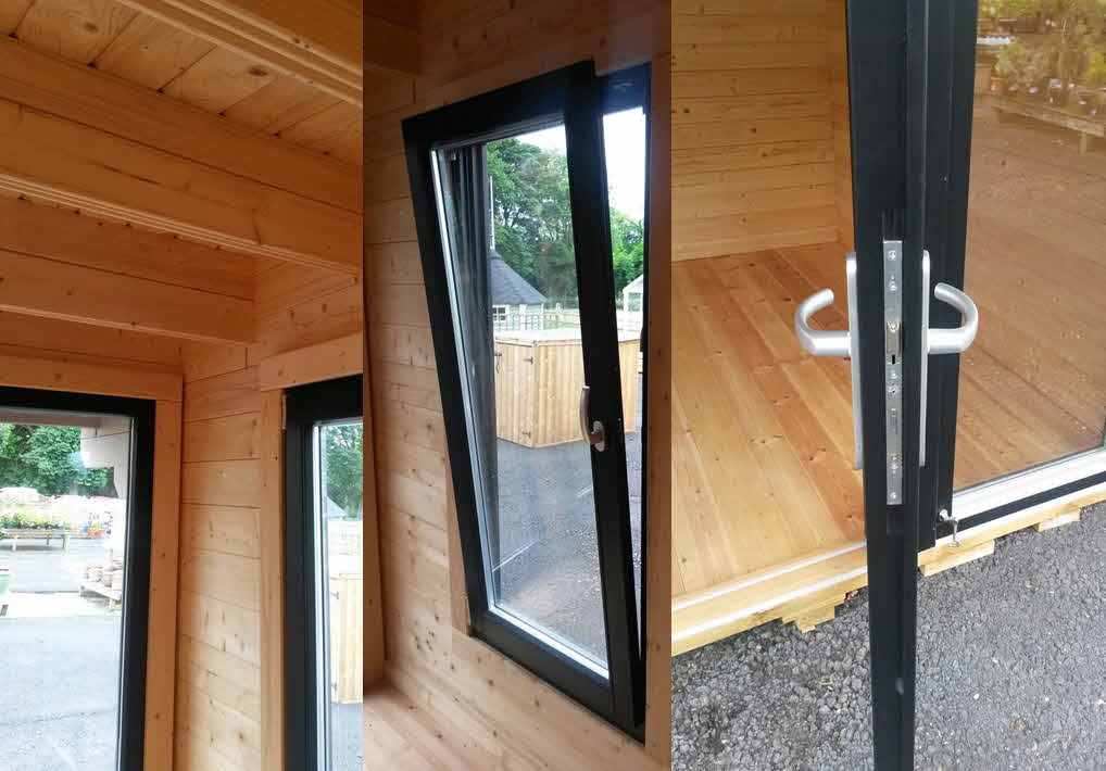 Deluxe Log Cabin Kings Lynn 3.5m x 3m_6