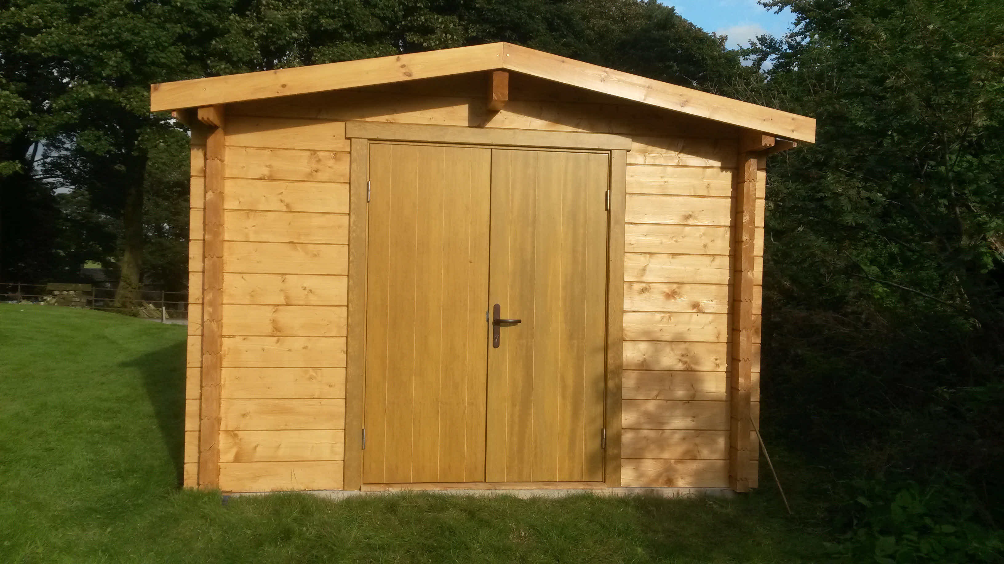 Timber Cabin Installation Bracewell 3m x 4m _2