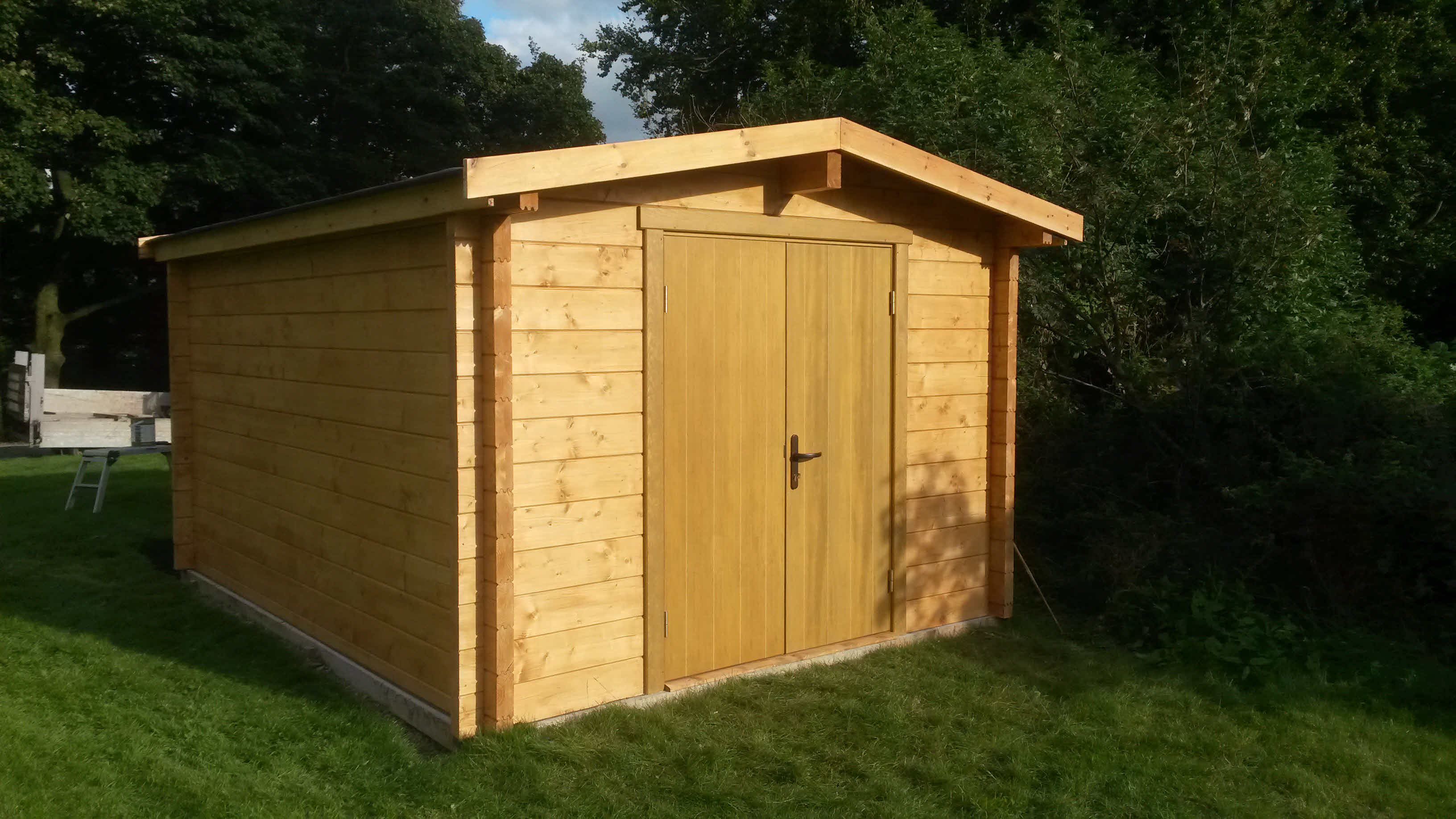 Timber Cabin Installation Bracewell 3m x 4m _4