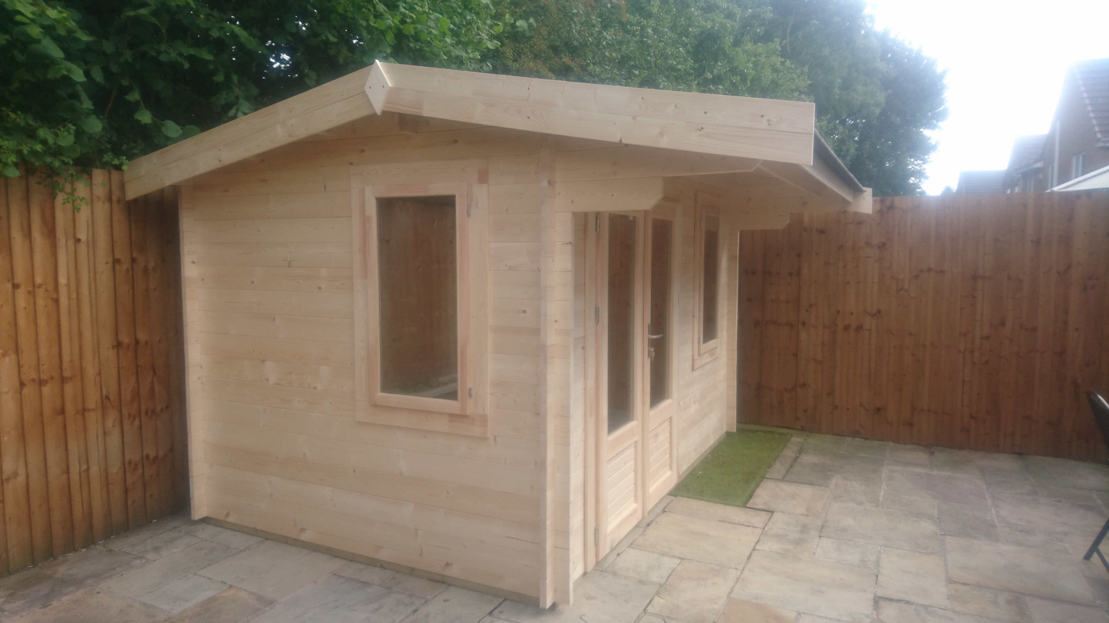 Log Cabin Thurrock 3.5m x 4.5m in Lancashire