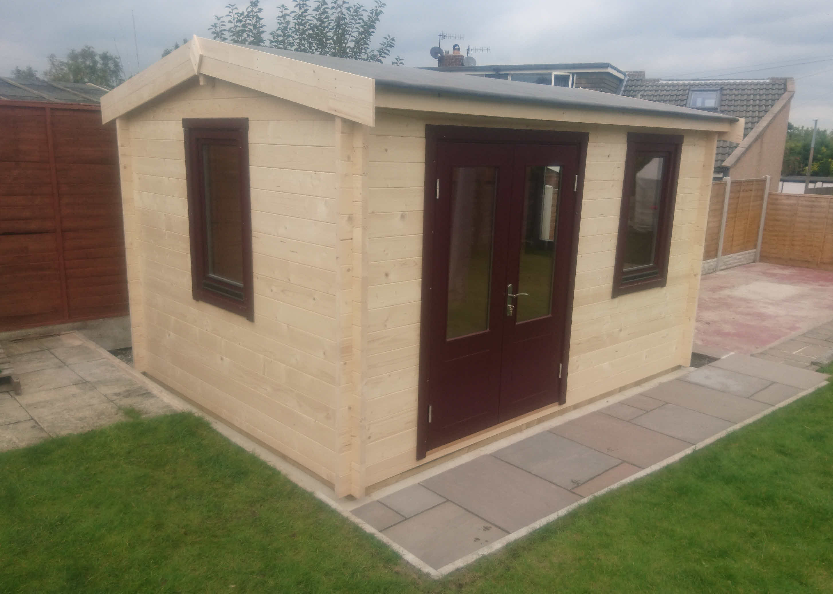 Log Cabin Caerphilly 4m x 3m in Langho Blackburn