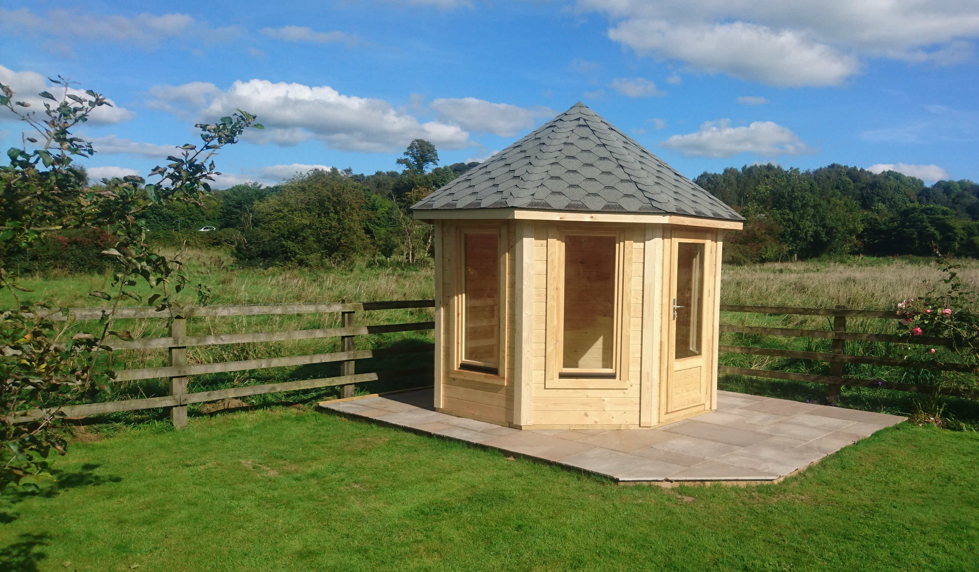 Summerhouse_Whalley_3m x 3m_Timber Cabins UK