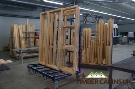 Timber Cabins UK Log Cabins Deluxe Doors and Windows 006
