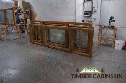 Timber Cabins UK Log Cabins Deluxe Doors and Windows 008