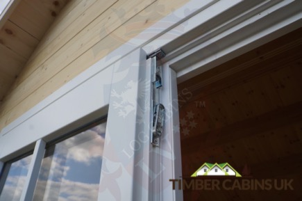Timber Cabins UK Log Cabins Deluxe Doors and Windows 013