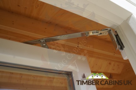 Timber Cabins UK Log Cabins Deluxe Doors and Windows 015
