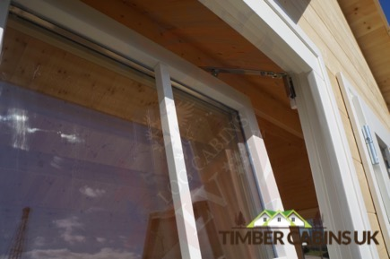Timber Cabins UK Log Cabins Deluxe Doors and Windows 016