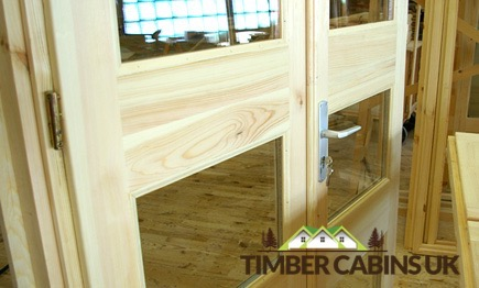 Timber Cabins UK Log Cabins Windows and Doors 012
