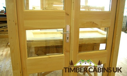 Timber Cabins UK Log Cabins Windows and Doors 033