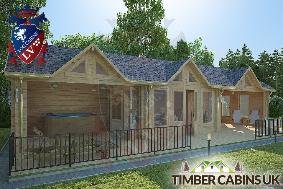 Log Cabin Maidstone 12m x 4m