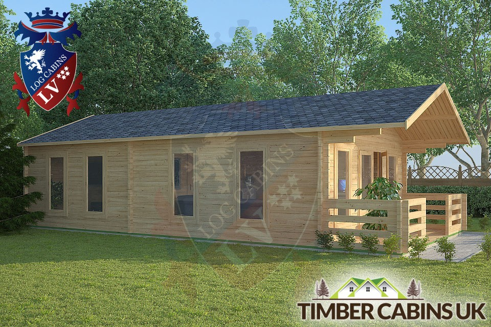 Log Cabin Quenmore from Timber Cabins UK